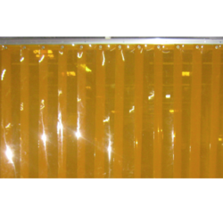 Anti Insect Amber PVC Strip Curtains