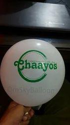 Chaayos Printed Balloon