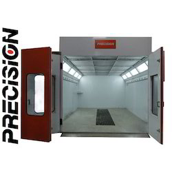 Paint Booth 6 M With Extra Wide Cabin