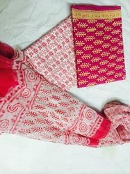 Suit with Ciffon Dupatta