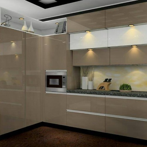 Mild Steel Melamine Kitchen Cabinet, Rs 1100 /square Feet