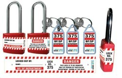 Link and Jainson Stainelss Steel and Iron Lockout Padlock, Packaging Size: 50 - 100 Pieces and > 100 Pieces