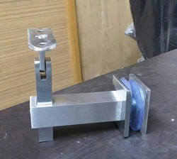 Glass Handrail Top Pipe Bracket