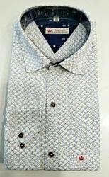 Cotton Muscari Smart Shirt