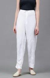 Chikankari Plazzos Pants