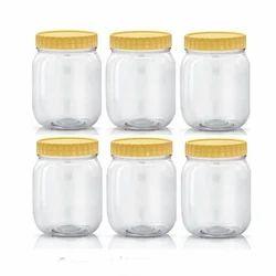 White Ghee Packaging Jar, for Kitchen Storage