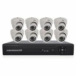 8CH AHD Dome Camera & DVR Kit