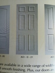White Primer Standard Moulded Skin Doors, Size/Dimension: 81x30 And 84x36
