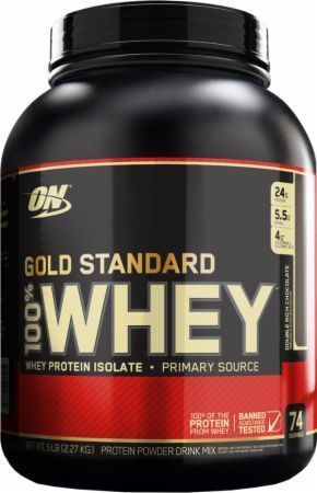 On Gold Standard 100 % Whey Protein Powder 5 Lbs