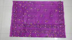 Kantha Stitch Pure Silk Saree