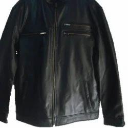 Black Men Leather Jacket