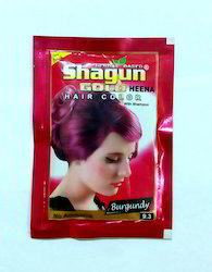 Natural Burgundy Hair Dye Powder