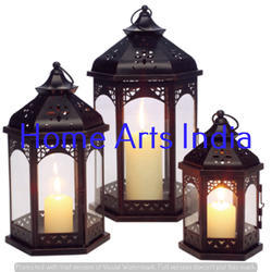 HOME ARTS Iron Moroccan Lantern, Battery Type: Non-Rechargable