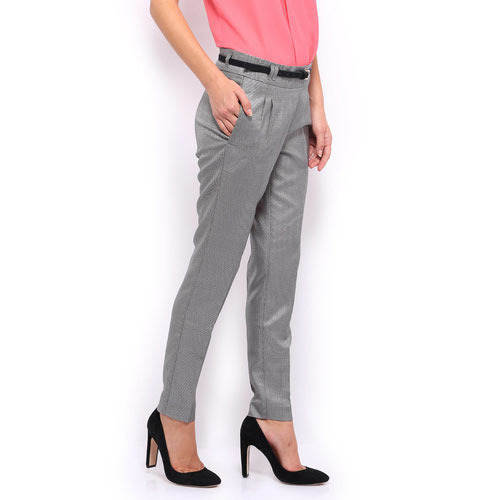 Grey Cotton Womens Formal Pants, 32, Rs 500 /onwards, Leo ...