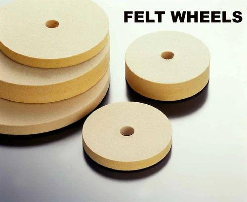 Felt Polishing Wheels