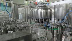 Fruit Juice Rinsing Filling And Capping Machine