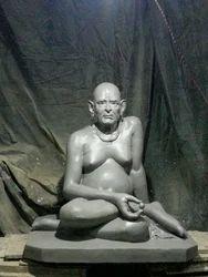Swami Samartha Sitting Statue
