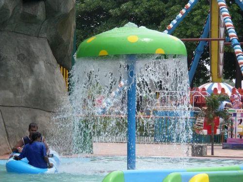 Kids Mushroom Umbrella Slide