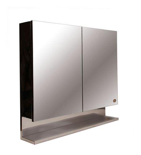 Cipla Plast Silver Double Door Bathroom Cabinet at Rs 6867 /pack   Bathroom Cabinet   ID: 11231347612