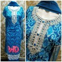 Stiched Blue Color Suit