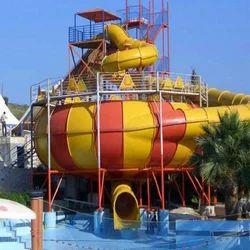 Cyclone Water Ride