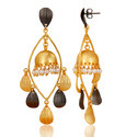 Brass Fashion Earrings