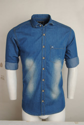 Blue Colour Denim Shirt