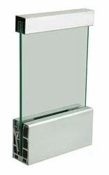 Anodized Coated Aluminium Glass Railing