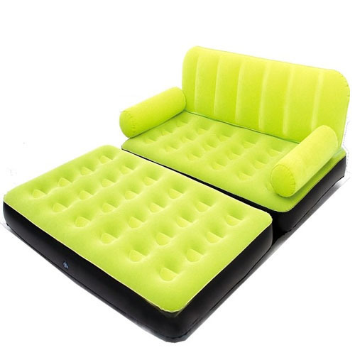 Velvet Air Sofa Cum Bed at Rs 2341 piece Shakarpur Extension
