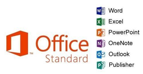 microsoft office std  Office Std 2016 SNGL OLP NL, MS Office Software - Wroffy ...