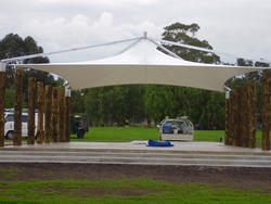 Roofing Tensile Membrane Structures