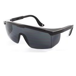Black Zoom Safety Goggles