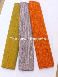 Organic Cotton Rectangular Yoga Rug / Indian Made Yoga Rugs, Size: 24 X 74 Inches