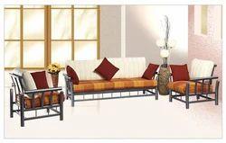 Decorative Mild Steel Sofa Set, For Home, Living Room