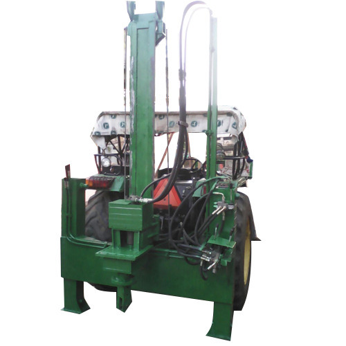 Semi Automatic Tractor Piling Machine