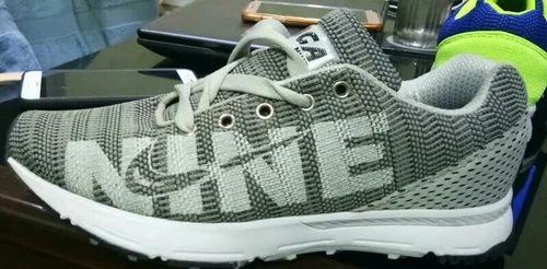 Grey Saga Nine Sport Shoes, Size: 7