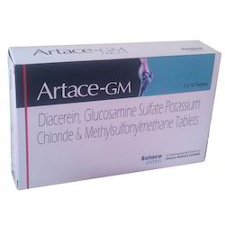 Diacerein and Glucosamine Tablet