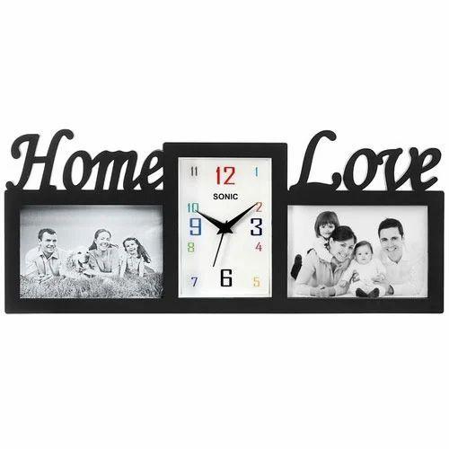 Photo Frame Table Clock तसवर मज घड फट
