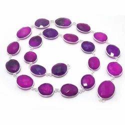 Lavender Bezel Chain