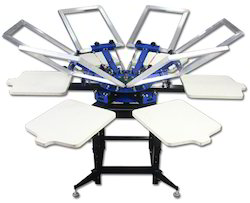 Silk T-Shirt Printing Machine