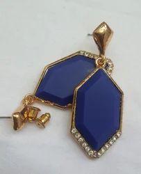 Beautiful Drop Design Sterling Earrings.