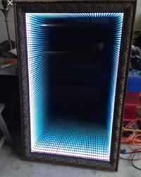 llluminated Multi Color LED Mirror