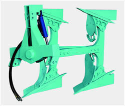 Single Cylinder Reversible Plough