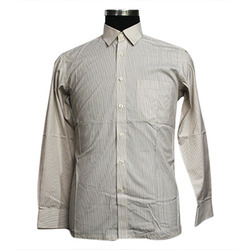 Men Subjected To Availability Striped Formal Shirt