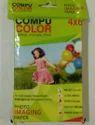 Compu Color Ultra White 4*6 Photo Paper, Gsm: 150 - 200