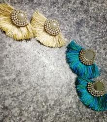 Party Female Tassel Studs