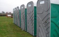 Portable Toilet for Construction Site
