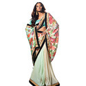 Wedding Half Net Saree