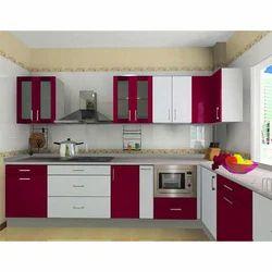 Modular Kitchen Design Kolkata modular kitchen - l shape modular kitchen manufacturer from kolkata