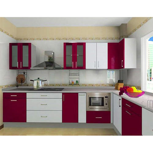 Wooden Modular Kitchen At Rs 3200 /sq. Ft.